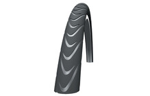 "SCHWALBE Marathon Supreme 28"" Touring Tringle Souple"